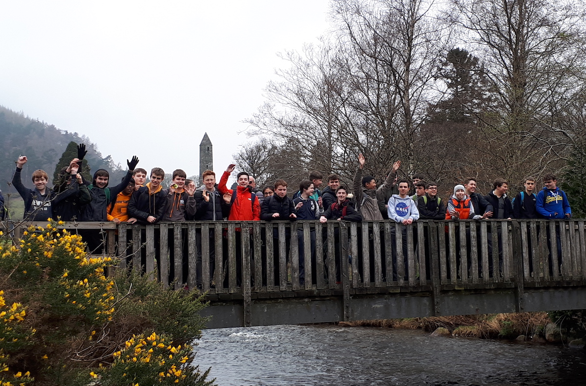 CSPE Project trip to Wicklow