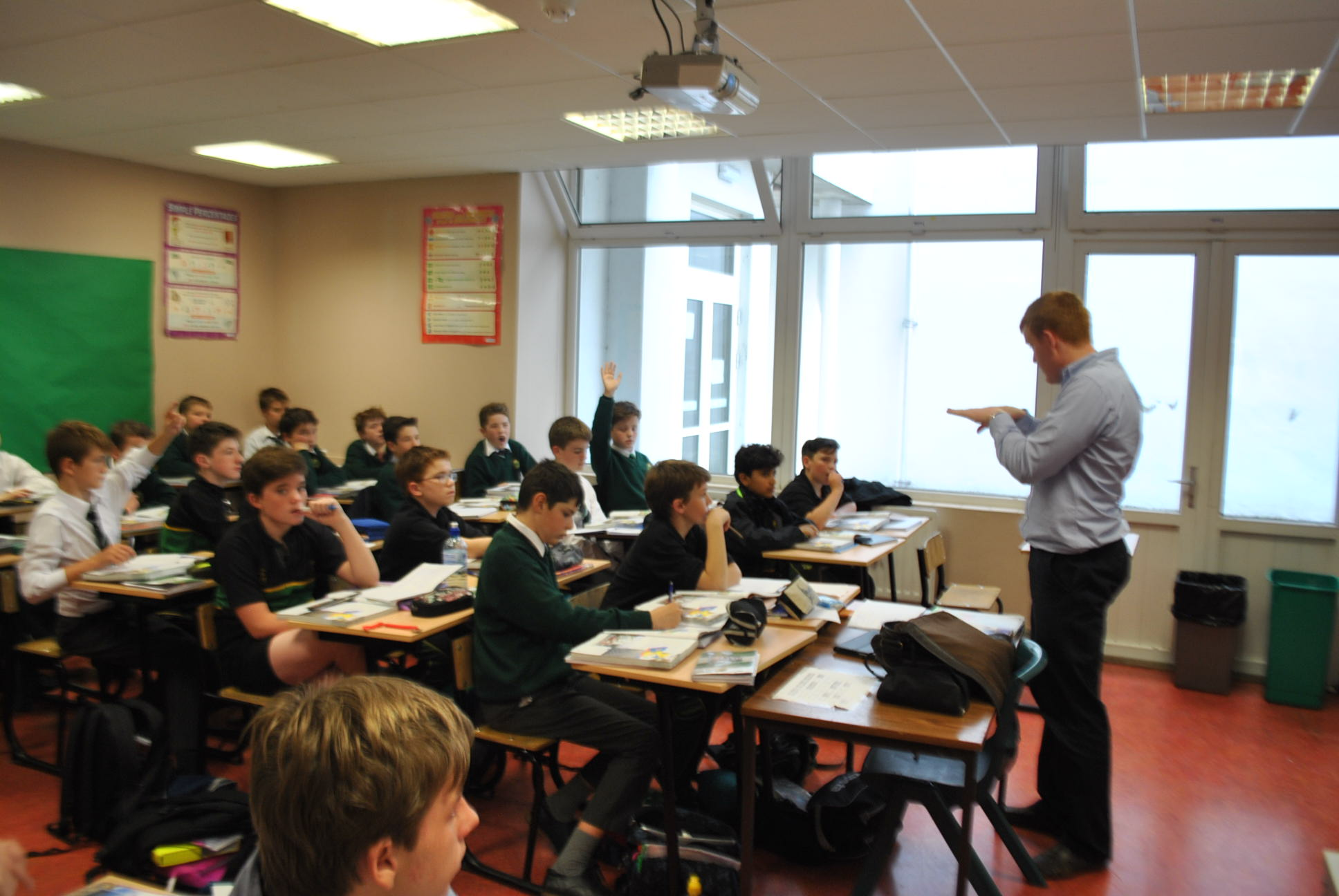 Geography with Mr. Lonergan
