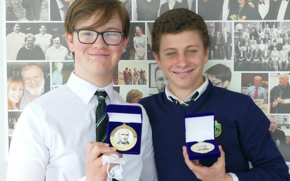 Classics Cicero Medal- Leo nolan & Lorenzo Rafter