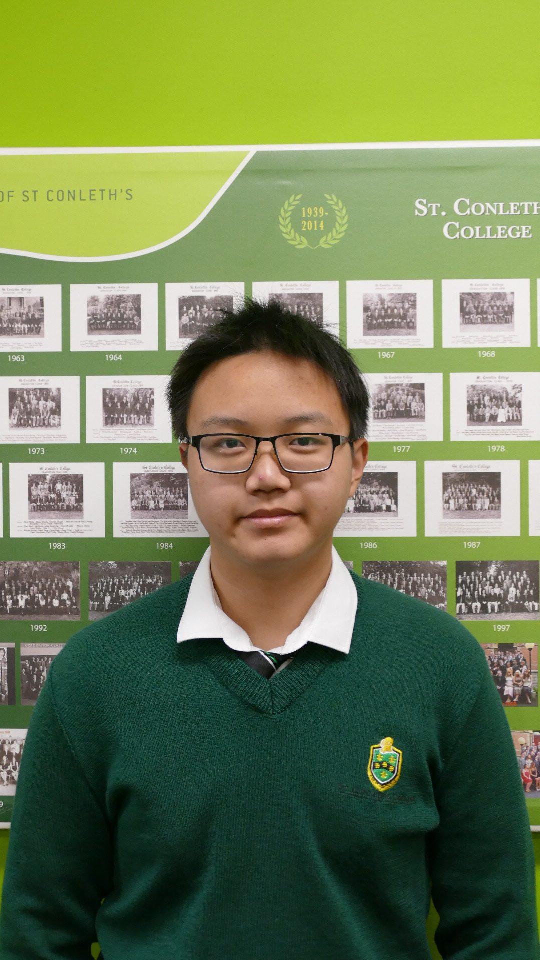 Irish 2:  Yubo Wang