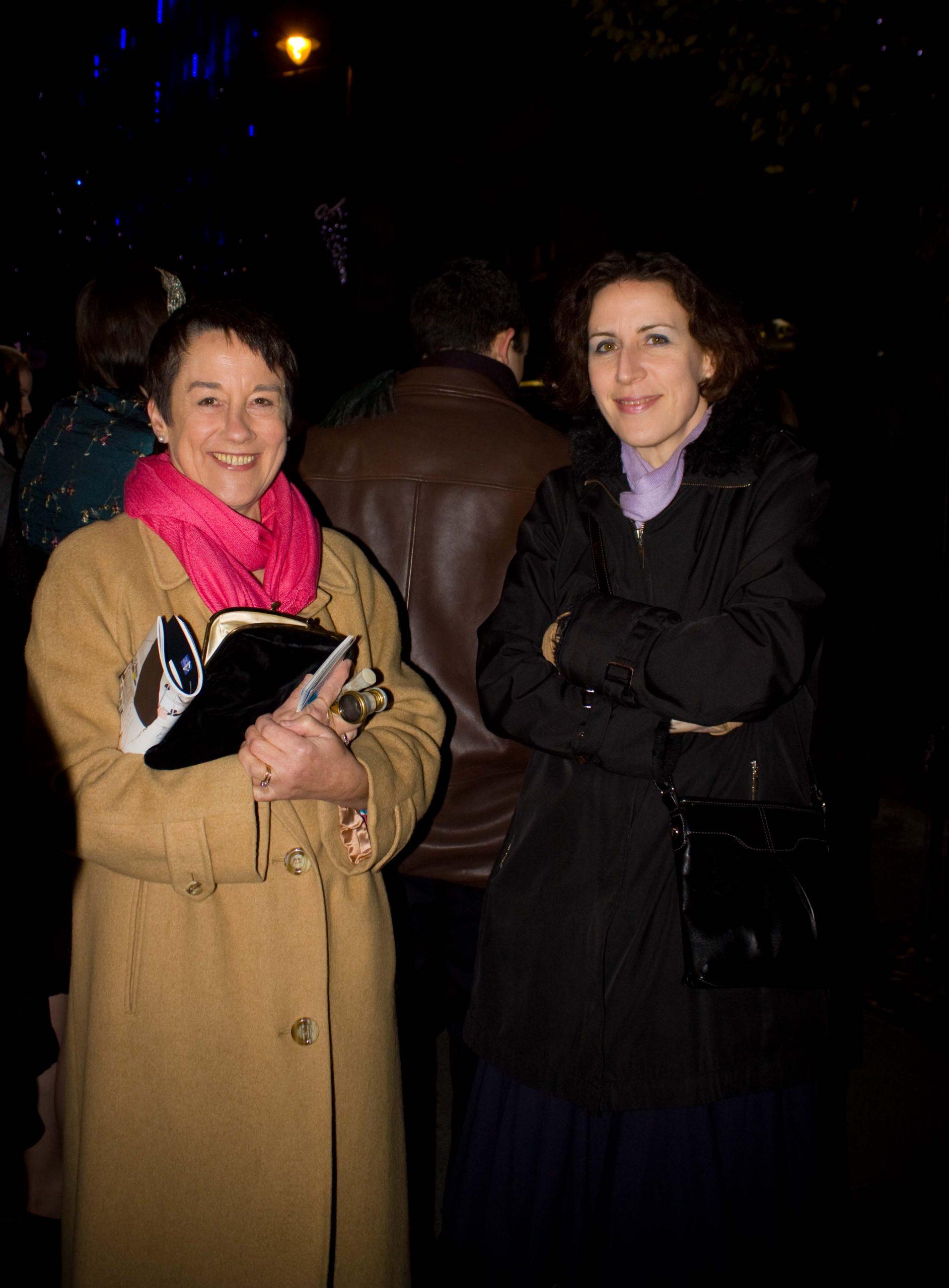 70c Ann Sheppard with Gobnait NiAonghusa